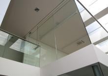 Interiérové sklo